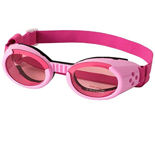 Doggles ILS Interchangeable Lens System Pink Frame/Pink Lens, Sizes: Large