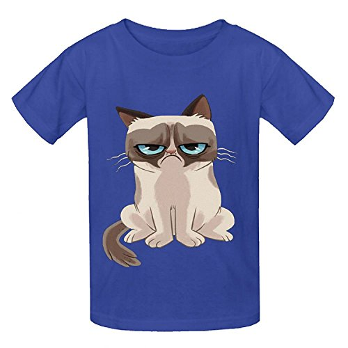 Rocket Dog Chain (Snowl How You Doing Oto Youth Crew Neck Short Sleeve Tees Blue)