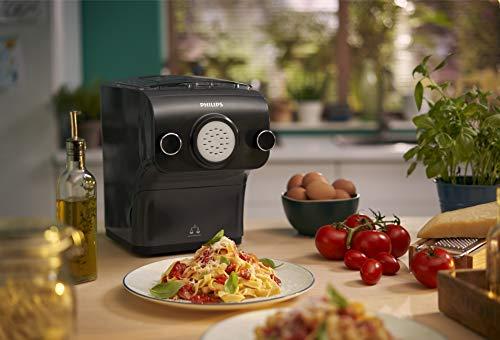 Philips Maker Avance HR2382/15 Macchina per Preparare Pasta Fresca con Bilancia Integrata, Programmi Automatici, 200 W… 4
