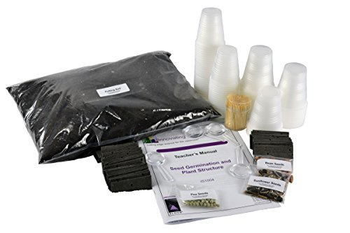 Seed Germination and Plant Structure Elementary Chemistry Kit - Materials for up to 15 Groups