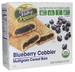 Multigrain Cereal Bars - Blueberry Cobbler 6/1.3 Ounce (Multigrain Cereal Bars)