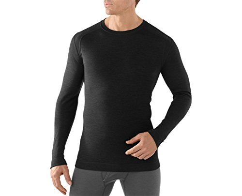 Smartwool Men's NTS Mid 250 Crew (Black) Large Smartwool Clothes