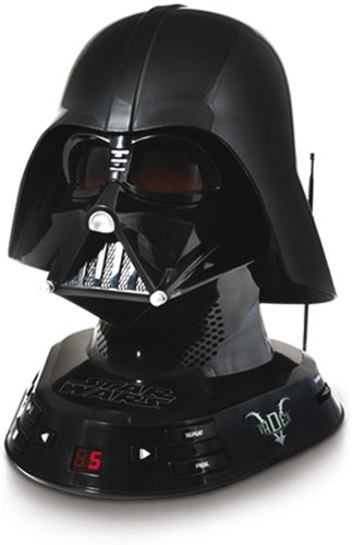 Zoofy International Darth Vader CD Boombox