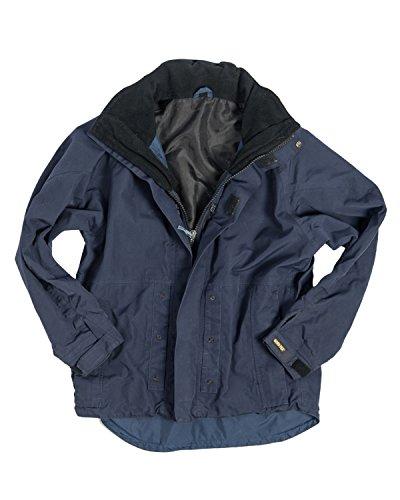 55c2f22465 Snickers Quality Navy Blue Goretex Waterproof Jacket by Swedish Workwear   Amazon.co.uk  Clothing