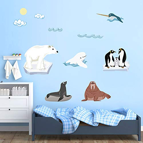 - decalmile World Animals Wall Decals