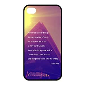 Beautiful Building Cityscapes - Sydney Opera House Silicon iPhone 4/4S Case, Snap on Protective Sydney Opera House iPhone 4/4S Case