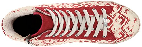 Kim & Zozi Womens Gypster Fashion Sneaker Rosso