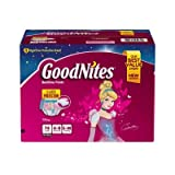 Health & Personal Care : GoodNites Bedtime Underwear for Girls (Choose Your Size)