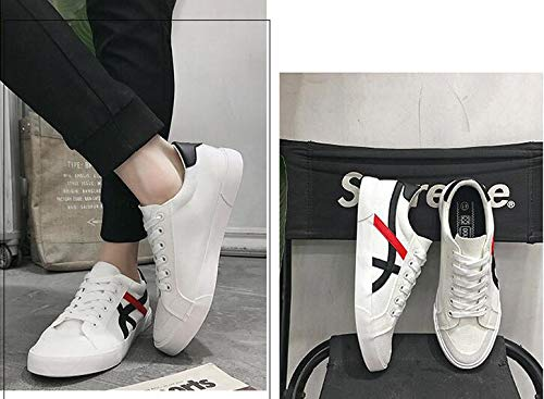 Deporte Xue Para Hombre Lona De Li Blanco Informales Zapatos Azul Color Coreanos Zhou SaA4zrS1