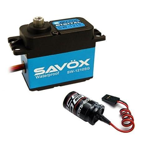New Powerhobby 25T Aluminum Servo Horn Blue Savox 1210sg 1211sg