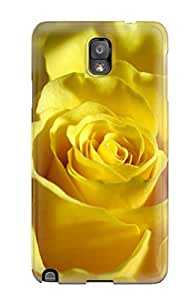 Yellow Flowers Case Compatible With Galaxy Note 3/ Hot Protection Case