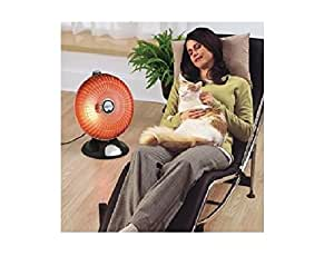 Presto Heat Dish Plus Parabolic Electric Heater