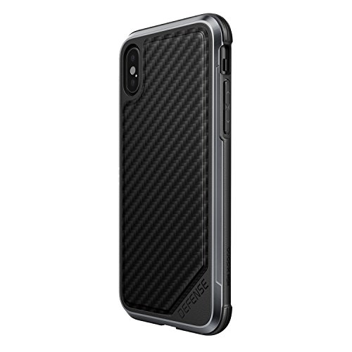 X-Doria Coque en Aluminium pour iPhone X Noir