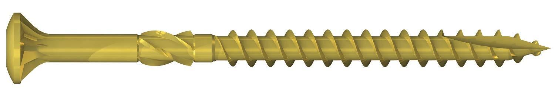 TX15 Bit Reisser Massivholzdielenschrauben 3,5x65mm 120 St/ück incl