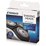 SH30/52 Replacement Shaving Heads Suitable for Philips Norelco Series 3000 2000, 1000 and S738 Electric Replacement Heads (Si