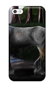 unicorn horse magical animalte Anime Pop Culture Hard Plastic iPhone 5/5s cases FQBC8GXUA2BHRW4Y