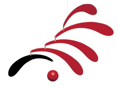 Flowing Rhythm red FLENSTED f005Red
