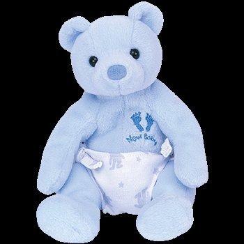 ITS A BOY the Bear TY Beanie Baby