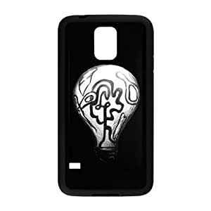 ZK-SXH - Cute Light bulb Personalized Phone Case for SamSung Galaxy S5 I9600, Cute Light bulb Customized Case