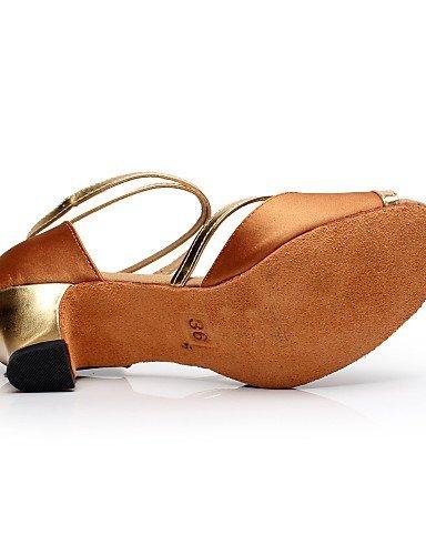 Chaussures Black Satin Personnalisables Bleu Salsa Noir Or Latine Flocage Non ShangYi Bottier Talon danse Rouge de ZPd8xxqwH