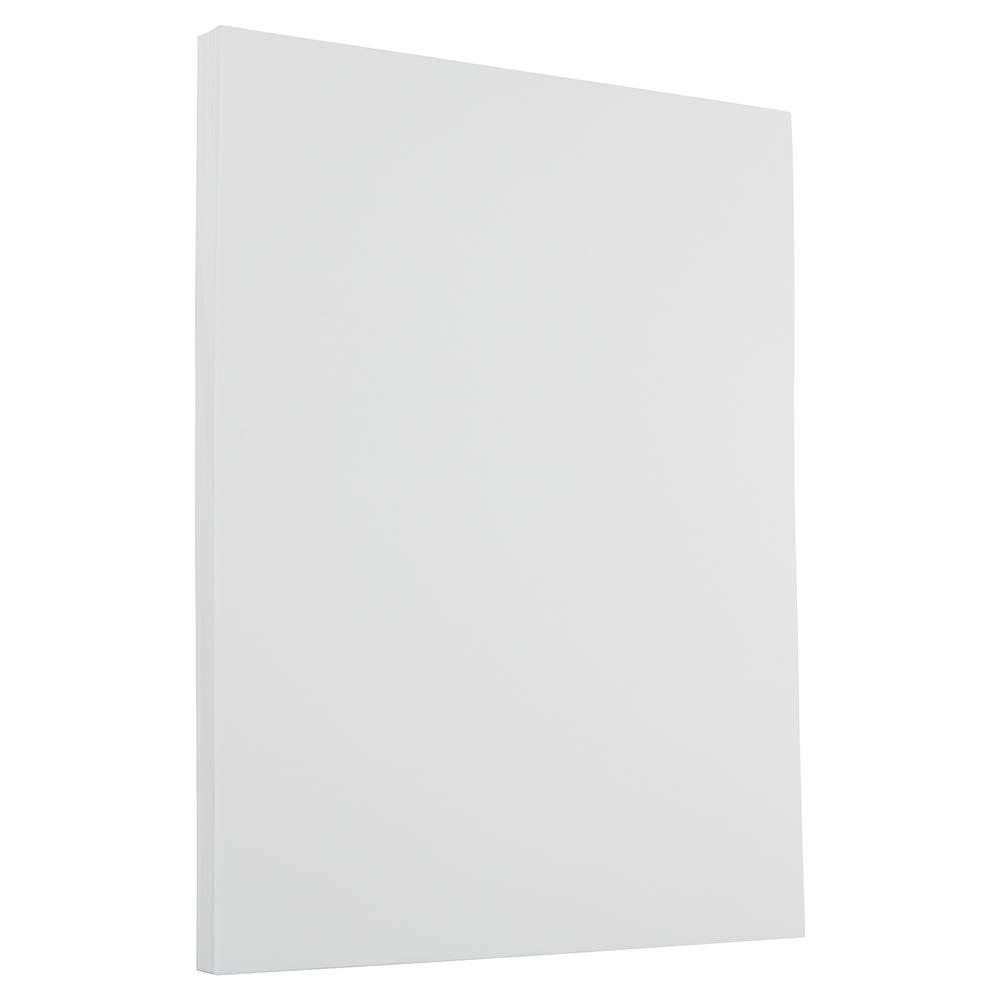 JAM PAPER Strathmore 24lb Paper - 8.5 x 11 - Bright White Laid - 500 Sheets/Ream