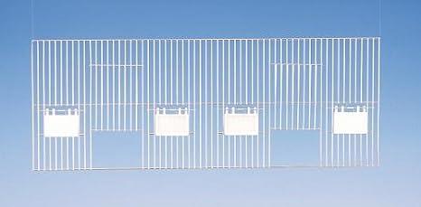 Nobby AF - Rejilla de Jaula de Zinc para pájaros (80 x 30 cm ...