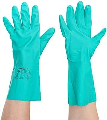par /único Polyco 925/Nitri Tech III qu/ímicos resistente guantes verde tama/ño 8//tama/ño mediano