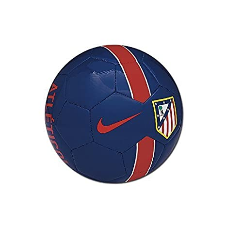 Nike Atletico Supporter S Ball - Balón de fútbol, color azul/rojo ...