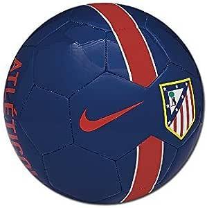 Nike Atletico Supporter S Ball - Balón de fútbol, color azul/rojo ...