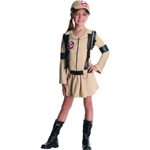 Ghostbuster Girls Costume, Small]()