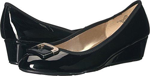 Bandolino Women's Tad Black Super Soft Patent PU 7 W US