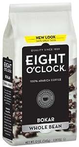 Eight O'Clock Coffee, Bokar Blend Whole Bean, 12-Ounce Bag (Pack of 4)