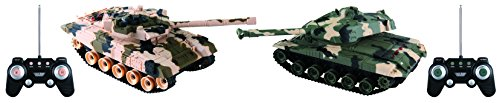 Rockn' RC RC7939 Remote Control Battle Tank (2 Pack)