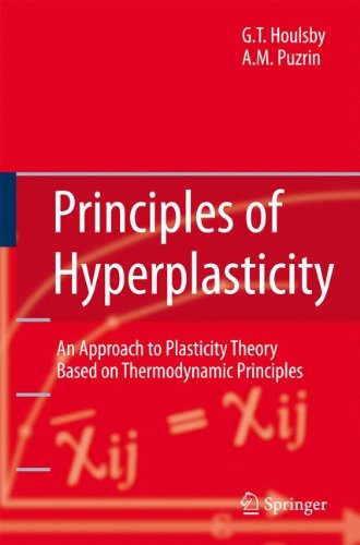Principles of Hyperplasticity: An Approach to Plasticity Theory Based on Thermodynamic Principles