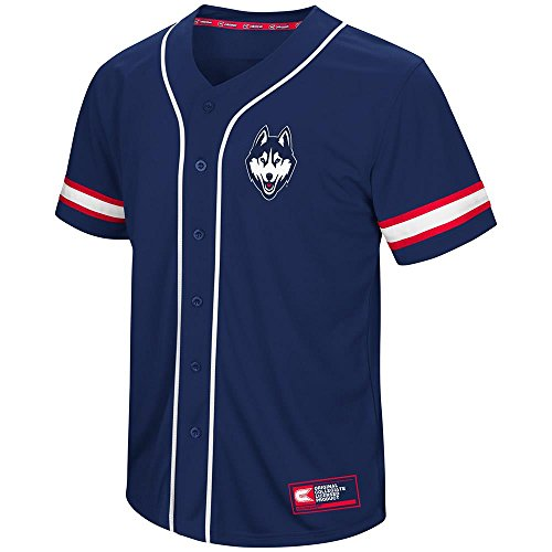 Used, Colosseum Mens UConn Huskies Baseball Jersey - L for sale  Delivered anywhere in USA
