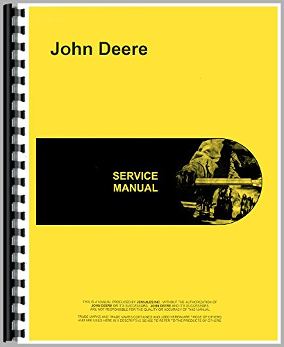 Service Manual For John Deere 650 Tractor (Diesel) (2 and 4 Wheel Drive)