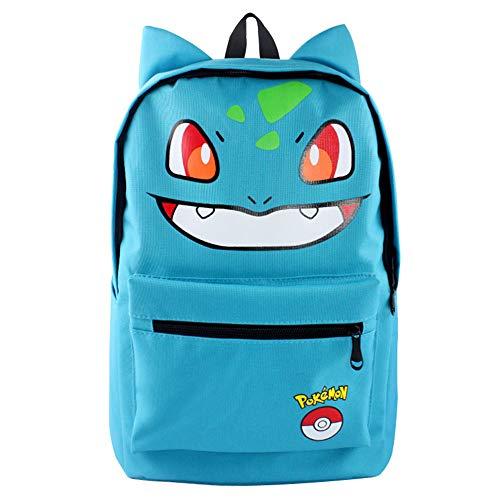 Pokemon Canvas Backpack Pikachu Backpack School bag by