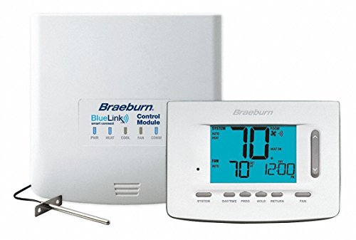 Braeburn 7500 Universal Wireless Kit 7, 5-2 Day or Non-Programmable 3H / 2C (Includes Thermostat, Control Module and Supply Air ()