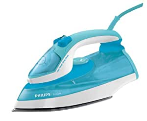 Philips EcoCare GC3730/02 Plancha de vapor, 2400 Watt, Azul