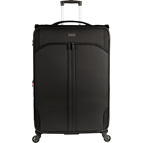 Antler Aire Dlx Softside Black 31'' Expandable, Color: Black, Size: Large by Antler