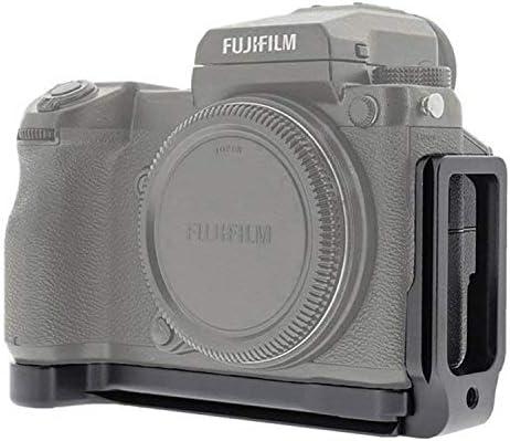 first2savvv Kamera Solide Aluminium L-f/örmigen vertikalen Schnellwechsel Platte f/ür Fuji Fujifilm GFX 50S GFX-50S