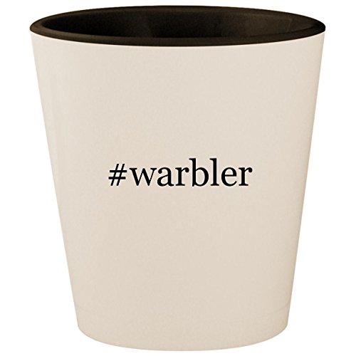 #warbler - Hashtag White Outer & Black Inner Ceramic 1.5oz Shot ()