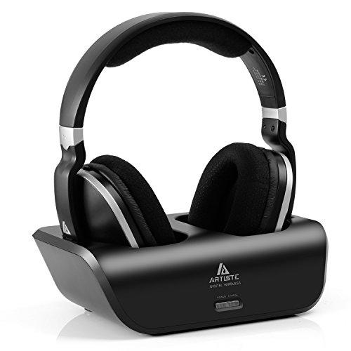 Wireless Headphone Over Ear Charging Transmitter