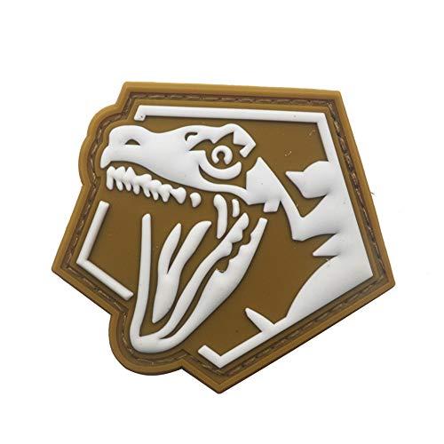 Yu2d  Dinosaur Patch Tactical Luminous Patch Flag Magic Stickers Badge Decoration(Multicolor)]()