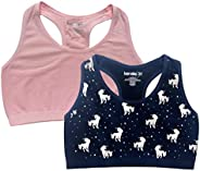 Kensie Girl Sports Bra for Girls Seamless Girls Bras for Little Girls & Teens Sizes