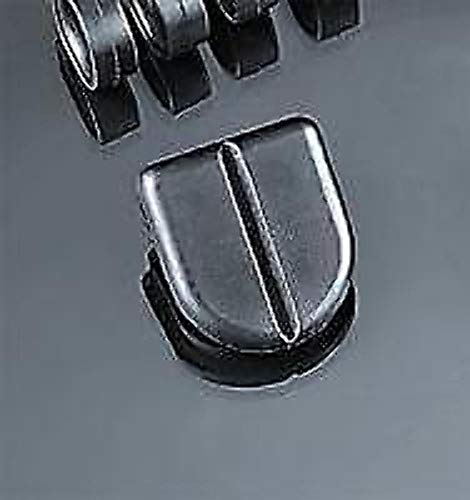 Kuryakyn 8080 ISO Peg Replacement Left/Right Rubber Stirrup Heel -