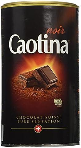 Caotina Fine Swiss Dark Chocolate Multivitamin Powder Drink - Made in Switzerland