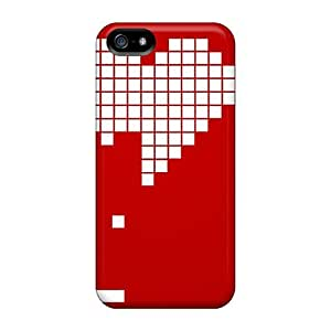 Awesome ECRjCsh8543emFTe Mialisabblake Defender Tpu Hard Case Cover For Iphone 5/5s- Heart Gaming