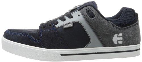 Etnies Rockfield - zapatillas bajas de cuero hombre, color azul, talla 8.5 UK
