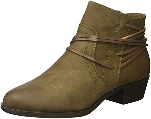 Madden Girl Women's Become Ankle Boot, Stone Paris, 7.5 M US